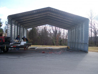 Carport installation jackson tn